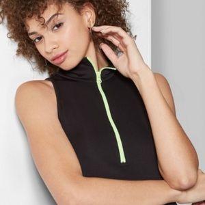 Target Wild Fable collared neck zipper dress